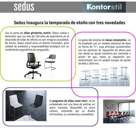 Kontor Stil Y Su Nuevo Modelo De Silla Match De Sedus