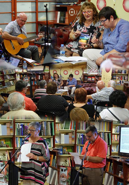 La librería Argot ofreció un evento contra la droga con música, poesía, rapsodas y una conferencia de Pilar Bellés