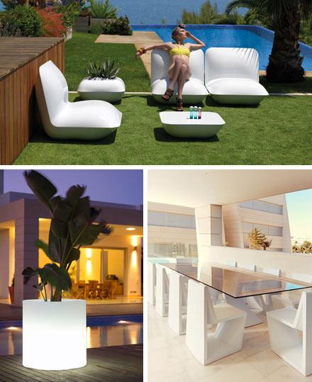 Muebles de exterior de dise o de la marca vondom con un 15 - Muebles en castellon ...