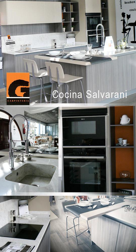 Cocina italiana salvarani en oferta exposici n en santiago - Cocinas en castellon ...