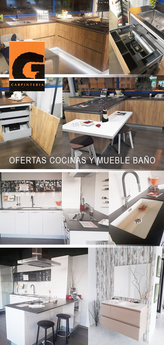 Cocinas y muebles ba o exposici n oferta carpinter a - Muebles de cocina en castellon ...