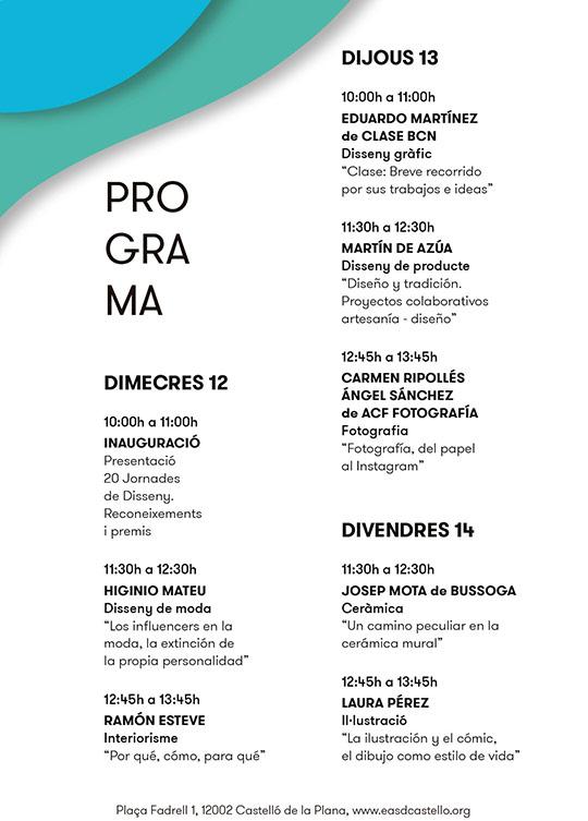 Jornades de Disseny en la EASD de Castelló