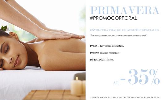 Promoci n tratamiento corporal abril en thalgo real - Spa en castellon ...