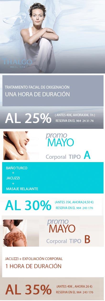 El mes de belleza y relajaci n promociones de mayo en - Spa en castellon ...