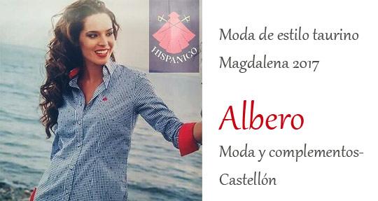 c625c54394a1 Moda con estilo taurino para Magdalena en Albero Castellón, Albero ...