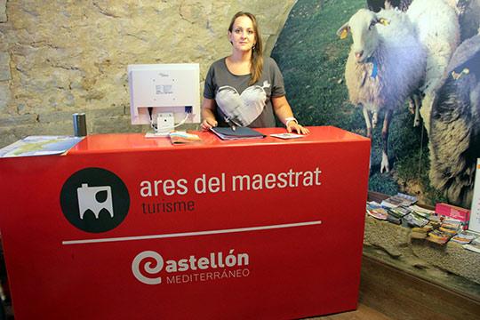 La oficina de turismo de ares del maestrat ofrece este for Oficina turismo castellon