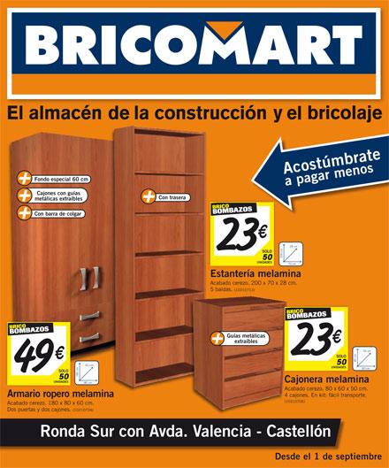 Adesivo De Geladeira Retro ~ Ofertas septiembre Bricomart Bricomart Castellón Noticias Castellón y provincia