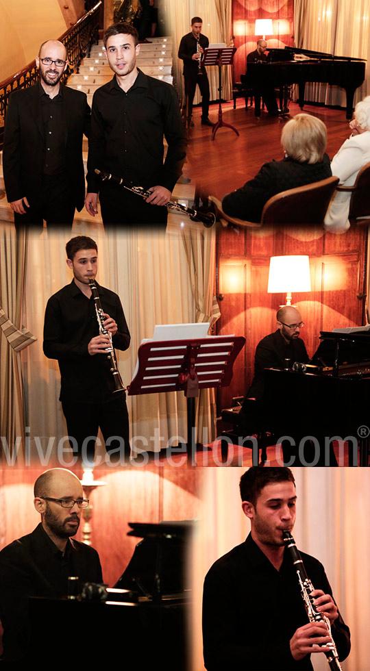 Concierto del clarinetista salvador navarro y el pianista for Salvador navarro