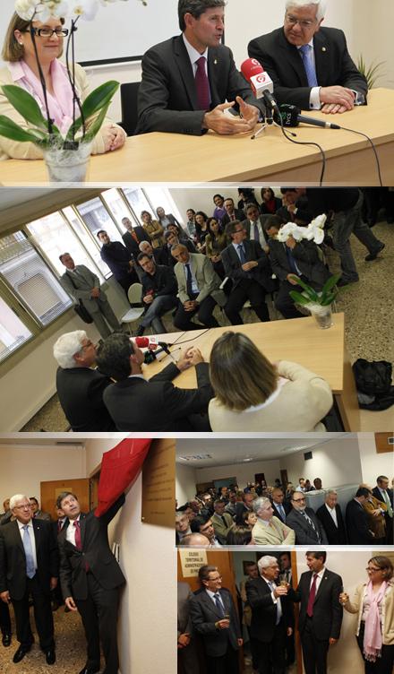 Inauguraci n de la delegaci n en castell n del colegio - Colegio de administradores de fincas de barcelona ...