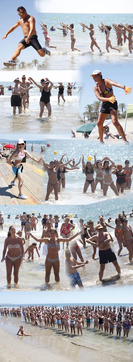 Siguen las actividades en la playa de castell n castell n for Turismo interior castellon