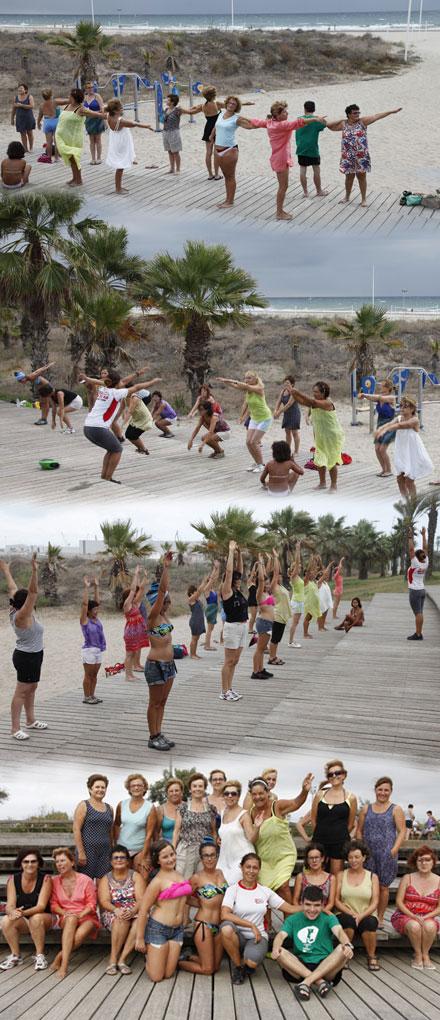 Clases de cubba en la playa de castell n para todos for Turismo interior castellon