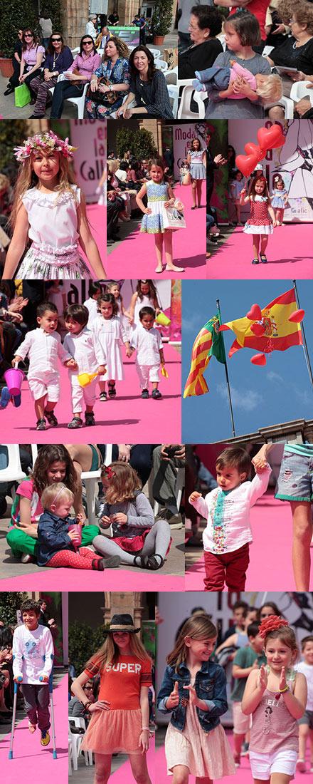 93313b713 Imágenes del ambiente en el divertido desfile infantil de Moda en la ...