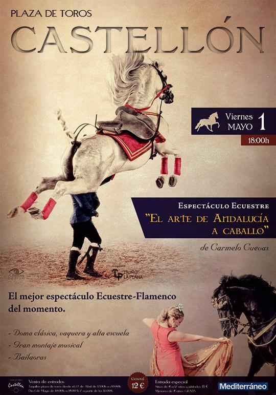 Adesivo De Geladeira Retro ~ El arte de Andalucía a caballo, espectáculo ecuestre flamenco en Castellón Castellón noticias