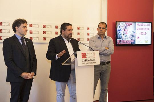 Castellón acogerá el mundial de motocross el 24 y 25 de marzo