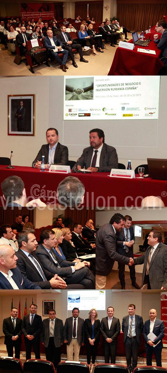 Clausura De La Jornada Oportunidades De Negocio E Inversion Rumania