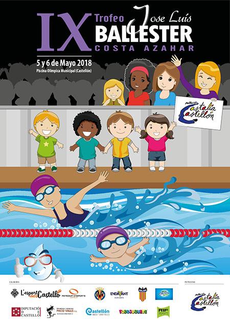 La piscina ol mpica de castell n acoge una competici n con for Piscina olimpica castellon
