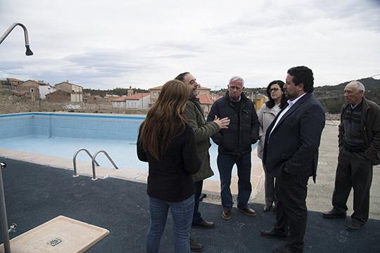 Adecuaci n de la piscina municipal de villanueva de viver for Piscina municipal castellon