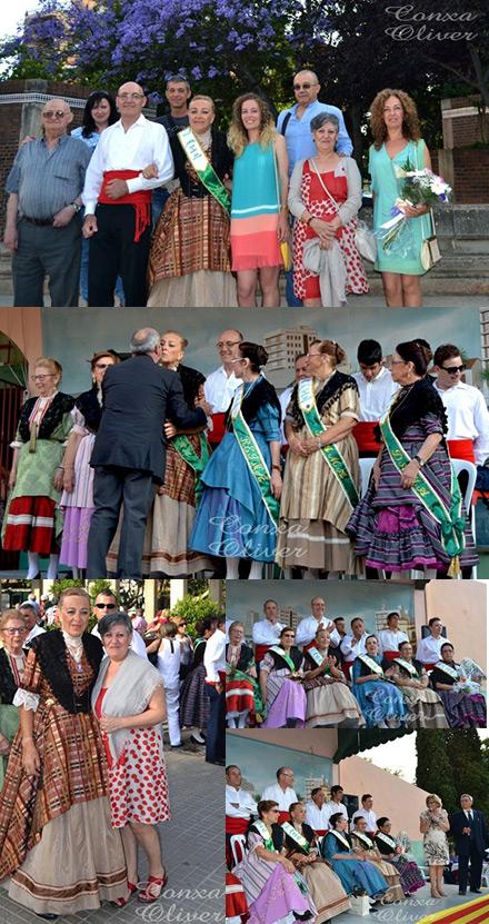 Proclamaci n e imposici n de bandas a la reina antonia guinot ferrando castell n concha oliver - Cristalerias en castellon ...