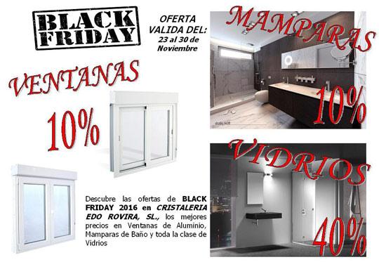 Black friday tambi n en mamparas vidrios y ventanas castell n cristaler a edo rovira noticia - Cristalerias en castellon ...