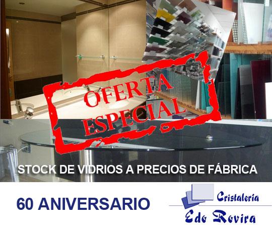 Cristaler a edo rovira lanza su oferta descuentos aniversario en vidrios a medida castell n - Cristalerias en castellon ...