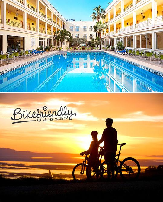 El Hotel del Golf Playa en Castellón, hotel bikefriendly