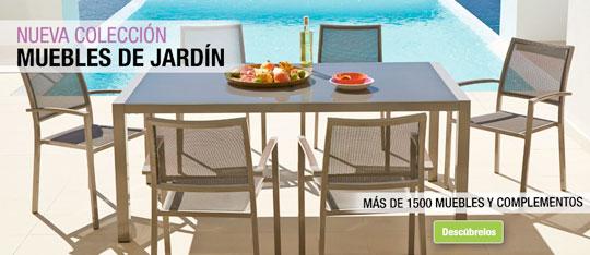 Especial muebles de jard n en leroy merlin castell n for Carpas jardin leroy merlin