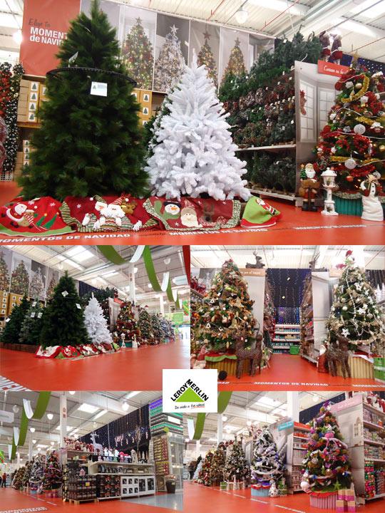 leroy merlin llena su tienda de adornos de navidad