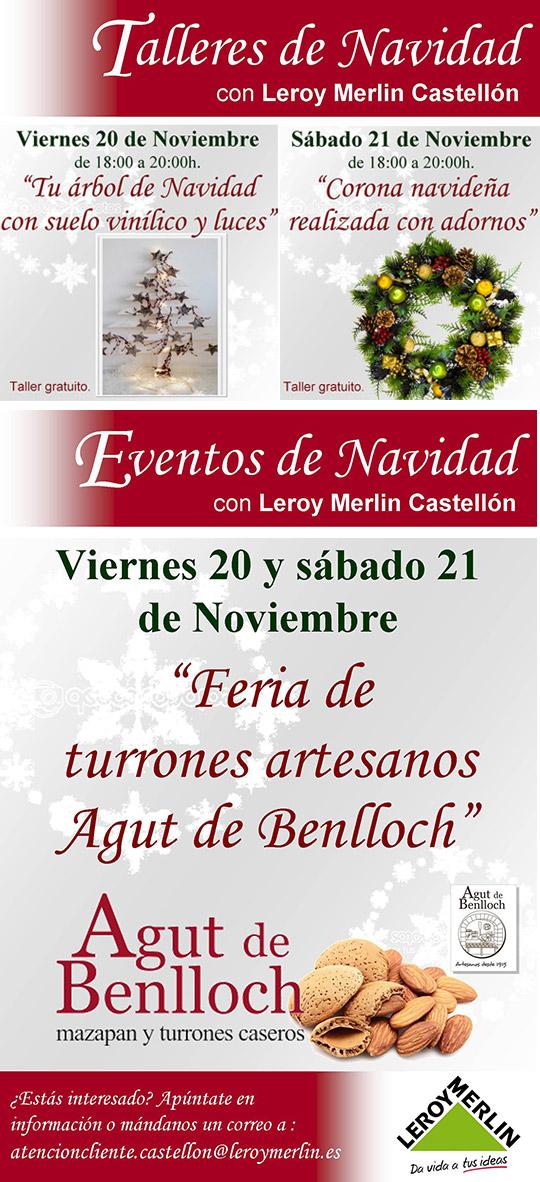 Talleres y eventos de navidad este fin de semana en leroy for Luces de navidad leroy merlin