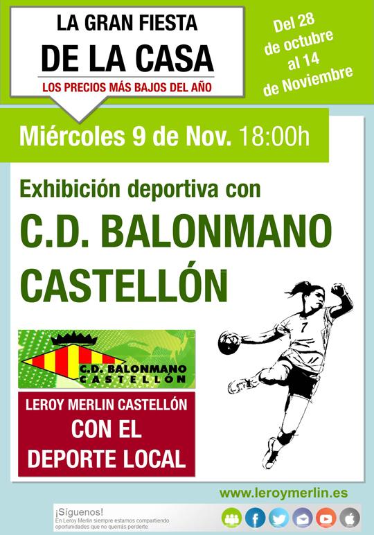 Exhibición Deportiva En Leroy Merlin Castellón Castellón