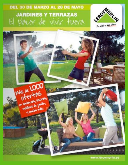 Nuevo folleto jardines y terrazas de leroy merlin el for Folleto leroy merlin