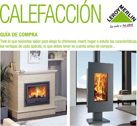 Estufas de gas butano leroy merlin good best salamandra a pellets first bordeaux kw ref with - Chimeneas leroy merlin ...