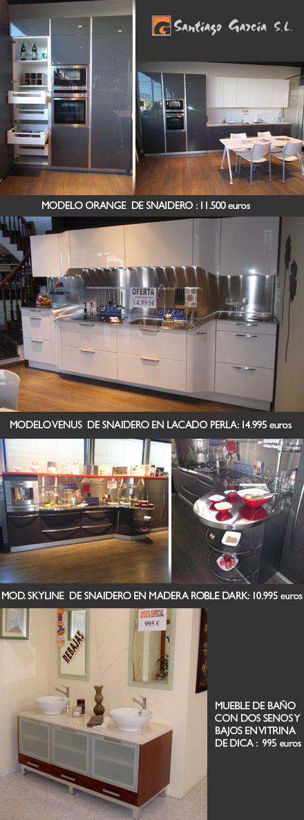 Oferta de cocinas y baños de Santiago García Castellón. Santiago ...