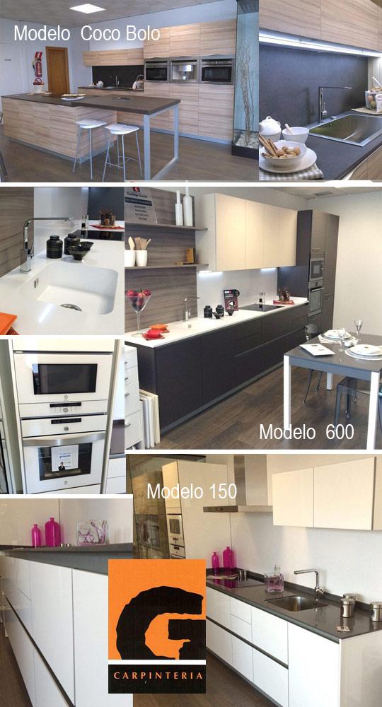 Muebles de cocina en exposici n de santiago garc a en for Cursos de cocina en castellon