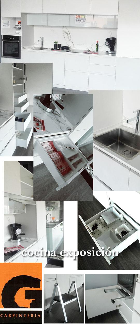 Promoci n de cocina de exposici n en carpinter a santiago - Cocinas en castellon ...
