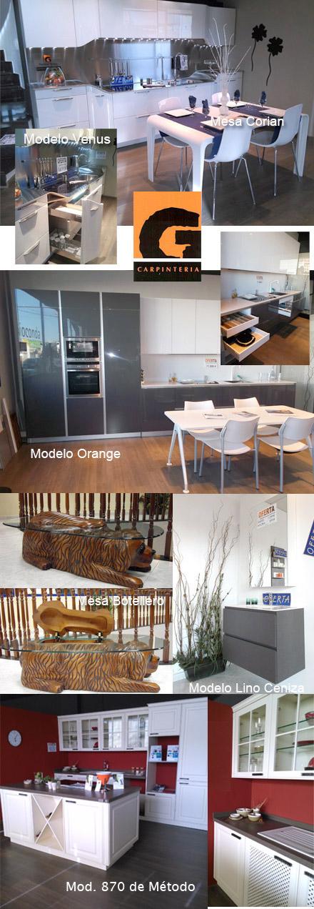 Ofertas de muebles cocina y ba o de exposici n en santiago garc a carpinter a castell n - Muebles de cocina castellon ...