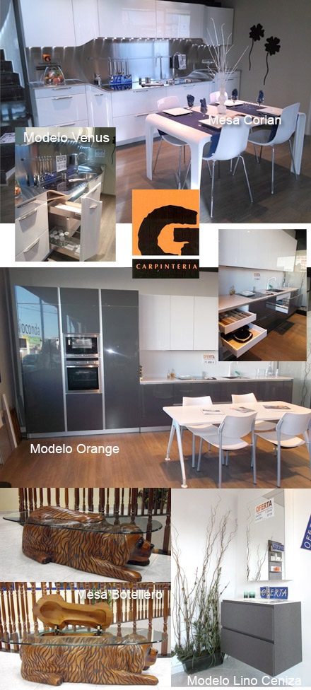 Ofertas de muebles cocina y ba o de exposici n en santiago for Cocinas castellon precios