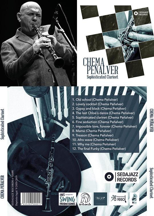 El álbum de Chema Peñalver ´Sophisticated clarinet´ distinguido con 2 medallas de plata en los Global Music Awards