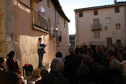 Vilafranca muestra su patrimonio con visitas guiadas for Oficina turismo castellon
