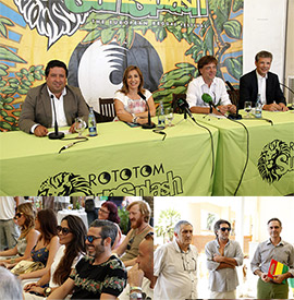 Presentación del Rototom Sunsplash 2014: We have a dream