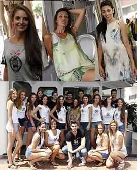 Pilar Irigoyen viste a las participantes de la Gala de elección Miss World Castellón