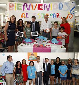 Visita a la Escoleta d´Estiu del CEIP ESTEPAR en Castellón