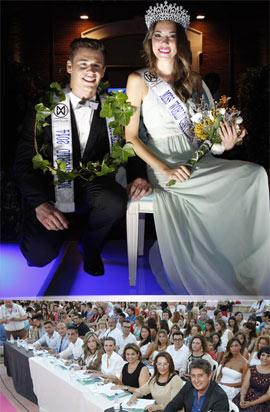 Mónica Osorio  y David Salla coronados Miss y Míster World 2014 Castellón