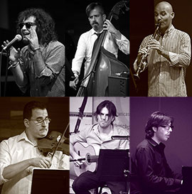 Concierto de Joe Petraski y los Carniceros del Tango en Benicàssim