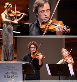 Los profesores del II Curso Internacional de Música y Canto de Benicàssim, protagonistas de Cordes a la Mar