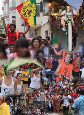 El Rototom llena las calles de Benicassím de su música y ambiente