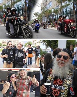Fin de semana de concentración Harley en Oropesa