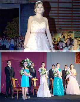 La presentación de la reina y su corte de honor inauguró las fiestas patronales de Albocàsser