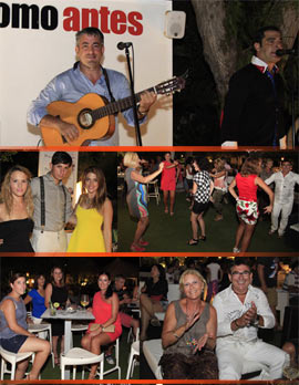 El grupo sevillano Arriate animó la noche de ComoAntes Benicàssim
