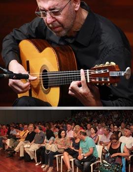 El concierto de Óscar Herrero homenaje a Paco de Lucía llenó el Espai de la Música de Benicàssim