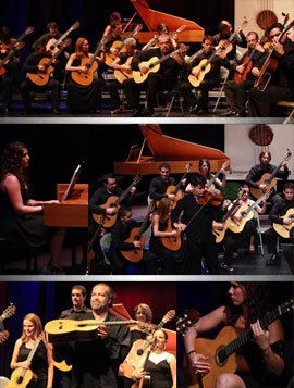 Concierto de Orquestra de Guitarres de Barcelona en Benicàssim